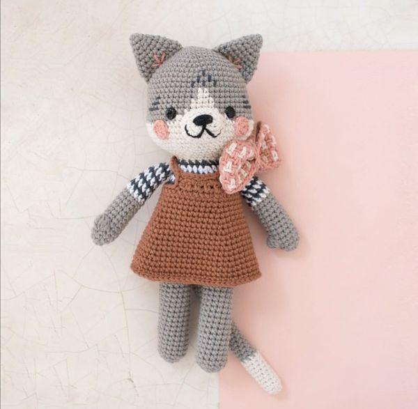 Katze Häkeltier Amigurumi