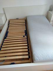 Ikea-Doppelbett Malm 1 80 x