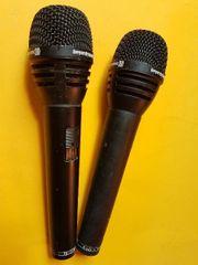 2 hochwertige Mikrofone BEYERDYNAMIC TG-X