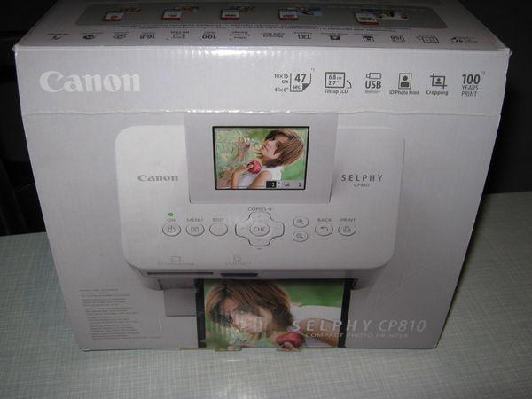 Canon-Selphy CP 810 Drucker