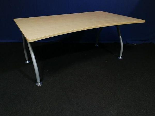 Schreibtisch 160x100 Freiform von Werndl