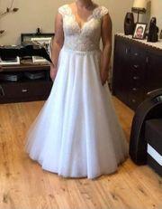 Hochzeitskleid zu verkaufen neuwertig