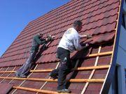 Metalldach-Blechdach-Dach-Systeme Decra Powertekk Evertile Dachplatten