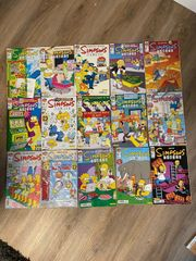 verkaufe Simpsons Comics und sammelsticker