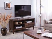 TV-Möbel dunkler Holzfarbton ARLING neu -