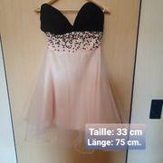 Kleid rosa Gr 36 mit