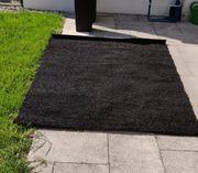 Teppich schwarz