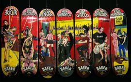 Baker Skateboard Serie