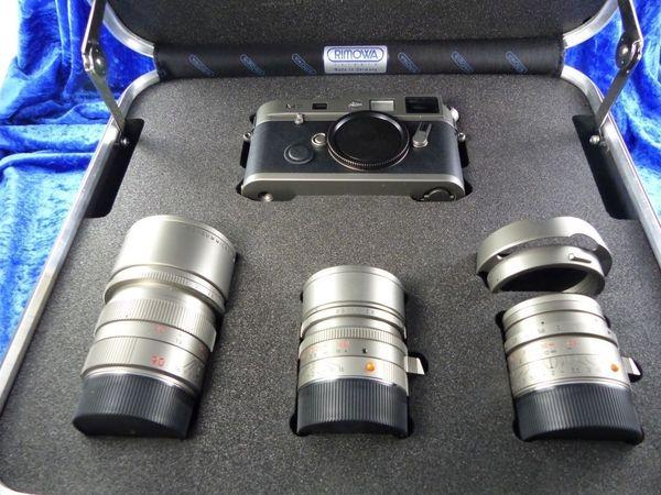 LEICA M7 50 Jahre Leica M System Titanium mit 3 Objektiven in OVP (4935)
