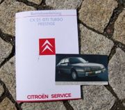 Betriebsanleitung Citroen CX 25 GTI