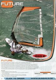 Windsurfsegel 6 qm