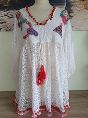 Sommer Zukauf Tunika Kleid Long -