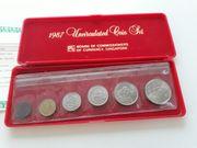 Coin Set Singapur
