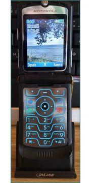 Motorola RAZR V3 schwarz - Ohne