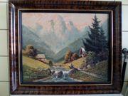 Zu verkaufen schönes ölgemälde Berglandschaft