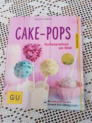 Neuwertiges modernes Backbuch Cake-Pops Kuchenpralinen