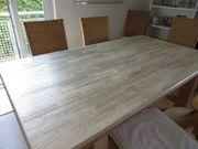 Massive Tischplatte Pinienholz