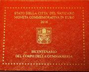2 EURO Gedenkmünze Vatikan 2016 -