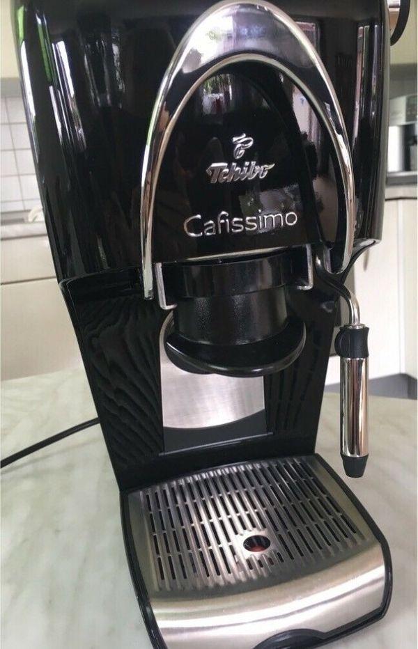 Tchibo Cafissimo Kaffeemaschine in schwarz