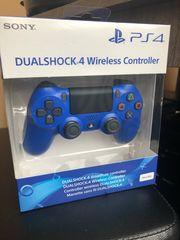 PS4 Controller Blau PlayStation NEU