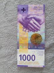 1000 Schweizer franken die wertvollste
