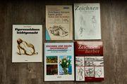 Büchersammlung Kunst bzw Zeichnen