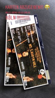 Lauryn Hill Konzert 2 Karten