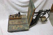 1876-1954 ANTIK Sackwaage m Gewichten