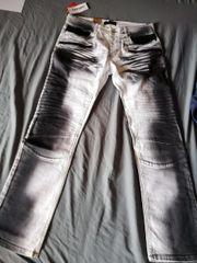 Herrenhose Jeans Biker Style Neu