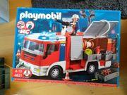 Konvolut Playmobil Feuerwehr Polizei Baucontainer