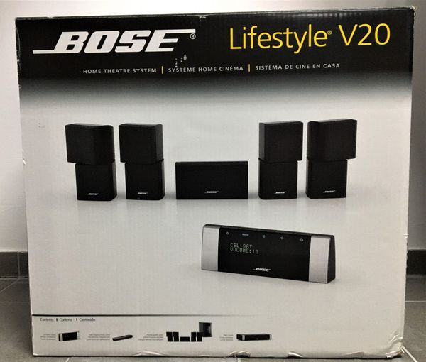 Original Bose Lifestyle V20 Home Theatre System - Farbe weiß