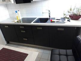 Küchenzeilen, Anbauküchen - Markeneinbauküche Impuls mit Elektrogeräten in
