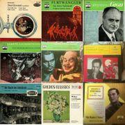 9 Klassik Schallplatten - Vinyl aus