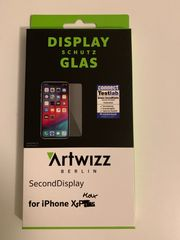 Panzerglas iPhone XS Max mit