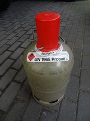 Propangasflasche 5kg Campinggasflasche Eigentumsflasche gefüllt