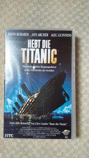 VHS Video Hebt die Titanic