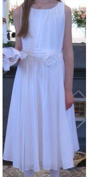 Kommunion Blumenmädchen festliches Kleid Gr