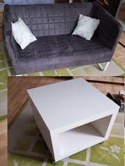Couchtisch in Weiß IKEA 2er -