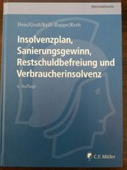 Insolvenzplan Sanierungsgewinn Restschuldbefreiung und Verbraucherinsolvenz