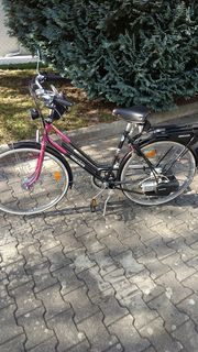 Hercules Fahrrad mit Sachs Motor