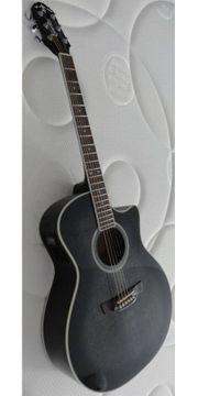 Gitarre - Westerngitarre Crafter GCL 80BKS