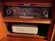 60-70 Jahre alte Telefunken Musiktruhe