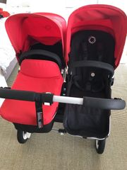 Bugaboo Donkey Duo in rot -