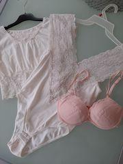 3Teile Gr 36 Body Unterhemd