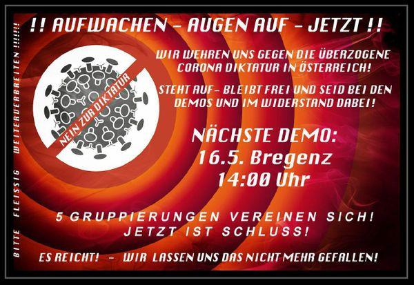 Grosse Demo Bregenz Heute 14