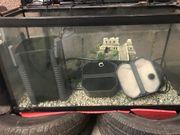 112 lieter Aquarium komplett