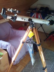 Teleskop Sternenteleskop sehr dekorativ neuwertig