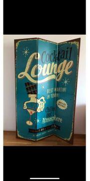 Vintage Trennwand Raumteiler Raumtrenner