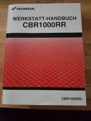 Werkstatt Handbuch Honda CBR1000RR Fireblade