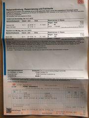 DB-Ticket Berlin 14 11 -18